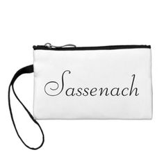 Sassenach wristlet - How about this cool TV series period piece Outlander? Gotta love it. Outlander Clothing, Outlander Tv Series, Black Nylons, Satin Fabric, Dandy, Clothing Patterns, Gifts For Dad, Note Cards, Personalized Gifts
