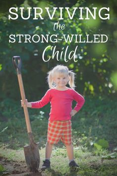 Surviving The Strong-Willed Child - TriciaGoyer.com Being a mom is hard! Make life easier by discovering how your child's strong-will can be a gift rather than a curse.