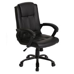Leather Office Chair Computer Desk Gaming Game Bucket Home Dorm Racing Executive #BestOffice