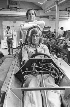 James Hunt and Lord Hesketh