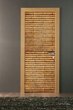Bamboo Door Idea