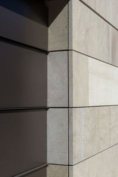 Exterior stone cladding projects 41 Ideas for 2019 Wall Cladding Interior, Stone Cladding Exterior, Sandstone Cladding, Cladding Design, Cladding Panels, Stone Facade, Exterior Gris, Exterior Wall Tiles, Exterior Design