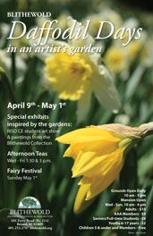 Celebrate Daffodil Days at Blithewold Mansion