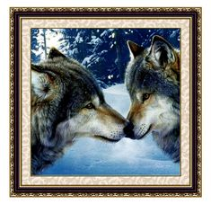 Needlework DIY Wolf Cross stitch,kit For Embroidery set,wolf animal pattern Count Cross-Stitch kit decorative painting #clothing,#shoes,#jewelry,#women,#men,#hats,#watches,#belts,#fashion,#style