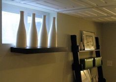 window treatments for basement windows - Google Search