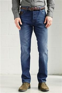Blue Wash Jeans by Next