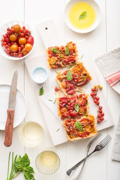 Heirloom Tomatoes and Special Tomato Tart