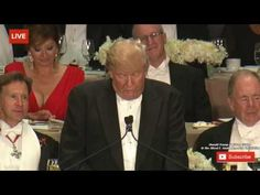 WATCH Donald Trump Destroys The Illuminati With The Best Speech You Will...Actually he promotes the Illuminati.. Jusyt look in the audience. Hera who he praise in the beginning of his speech
