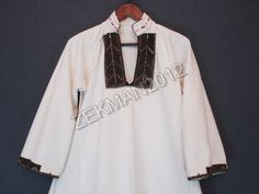 Antique Macedonian Traditional Folk Handwoven Long Women's Shirt | eBay