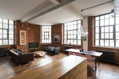 inspiração loft industrial em londres lofts and house