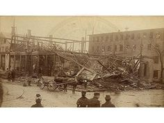 Today in Labor History - March 20th -- The R.B. Grover shoe factory in Brockton, Massachusetts, collapsed and burst into flames, Detroit police evicted strikers from the Newton Packing Company and more https://voicesoflabor.com/?p=10680