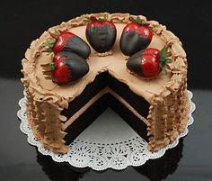 Cake - Mocha Chocolate - Slice Out