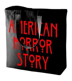 American Horror Story Tote Bag Reusable Grocery Bags, American Horror Story, Virtual Closet, Drink Sleeves, Tote Bag, Purses, Boudoir, Wallets, Party