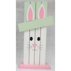 Wood Planks, Craft Party, Wood Pallets, Creative Design, Wood Crafts, Walmart, Bunny, Easter, Green