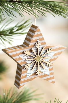 Make a tree full of fun star box ornaments with the Many Merry Stars Kit from Stampin' Up!