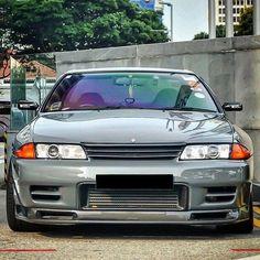 Nissan Skyline Gtr R32, R32 Skyline, R32 Gtr, Gtr Car, Tuner Cars, Jdm Cars, Japanese Cars, Modified Cars, Godzilla