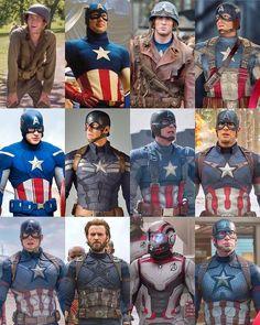 Chris 💕 Evans What's your favourite Captain America suit? Captain America Suit, Captain America Costume, Chris Evans Captain America, Steve Rogers, Infinity War, Marvel Universe, Caption America, Captain America Wallpaper, Marvel Wallpaper