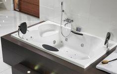 baignoire balneo RIHO Claudia haut de gamme 2 places vente de baignoire balneo spa d'interieur
