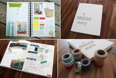 'Creating My Idea Journal...!' (via A Design Story)