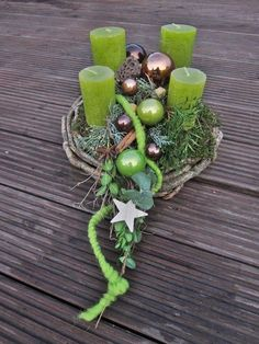Advent wreath Star tail, fresh or durable, colour choice, Christmas Adventskranz Sternenschweif 30 c Green Advent Wreath, Christmas Advent Wreath, Christmas Time, Christmas Candles, Advent Candles, Branch Decor, Arte Floral, Xmas Crafts, Diy Wreath