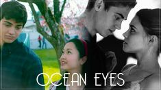 """""""What makes me cry is when you give me those Ocean Eyes"""" If you have not seen the movies included in the making of this video, that's alright! Romantic Movie Quotes, Favorite Movie Quotes, Movies For Couples, Billie Eilish Ocean Eyes, Trippy Cartoon, Love Yourself Song, Trailer Film, Cute Celebrity Guys, Cute Couples Kissing"""