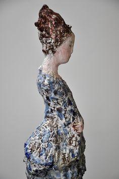 ☥ Figurative Ceramic Sculpture ☥  Pauline Ullrich