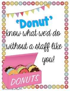 Food for the Teachers' Souls {Morale Boosters and Treats f