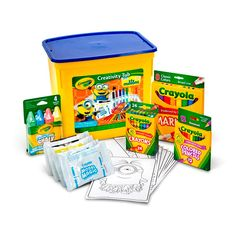 Great Gift or Activity tub for the Minion fan! High quality Crayola Art Materials. Minions content.