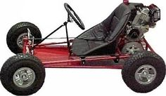 Asuza Roadster (My personal kart, Just added 5 inches to the front for leg room lol