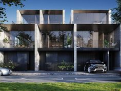 Property Report for Canning Street, Carlton VIC 3053 Residential Architecture, Architecture Design, Townhouse Exterior, Townhouse Designs, Melbourne House, Duplex House, Desert Homes, Minimalist Architecture, Building Facade