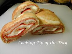 Cooking Tip of the Day - Pepperoni Bread