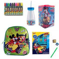 Ghiozdan mic Mickey + rechizite scolare Lunch Box, Disney, Character, Bebe, Bento Box, Disney Art