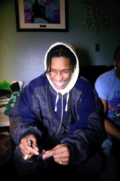 ASAP Rocky wearing  The Soloist Over Size Flight Jacket