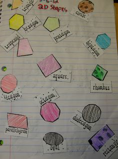 Step into 2nd Grade with Mrs. Lemons: shapes