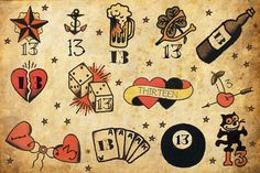 traditional tattoo flash - Google Search