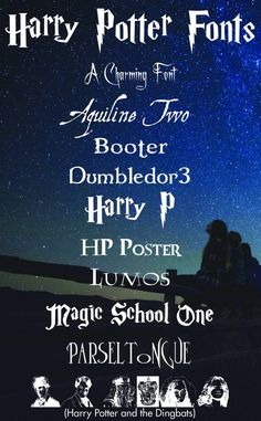 Harry Potter Free Harry Potter Fonts - More Than Thursdays - Are you a Harry Potter fan? Are you as obsessed with fonts as I am? You are going to love all these links to free Harry Potter fonts. Harry Potter Font Free, Arte Do Harry Potter, Harry Potter Shirts, Harry Potter Wedding, Harry Potter Font Download, Harry Potter Sayings, Free Printable Harry Potter, Sassy Harry Potter, Harry Potter Decal