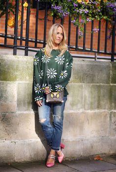 Mandatory Credit: Photo by Silvia Olsen/REX/Shutterstock (5108492s) Diana Gavrilina Street Style, Spring Summer 2016, London Fashion Week, Britain - 18 Sep 2015