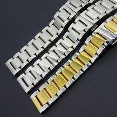 Silber mit gold Edelstahl Metall Armband Armband für L-g G uhr R smartwatch männer MIT Hoher Qualität Neue einsatz 22mm //Price: $US $23.00 & FREE Shipping //     #meinesmartuhrende