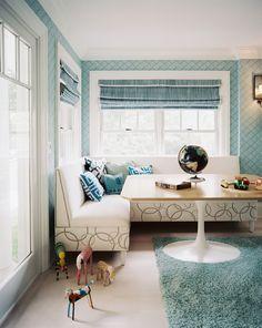Pretty, playful nook by Eddie Lee Inc.