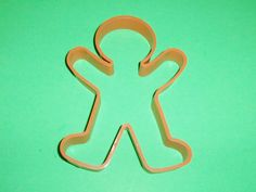 Vintage Hallmark Large Gingerbread Man Shaper Cookie Cutter 7.25 Inches