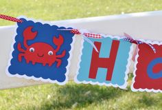 Beach+Theme+Birthday+Banner+by+PartyliciousGals+on+Etsy,+$23.00