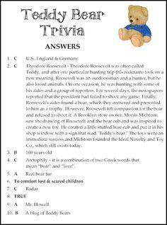 Free Teddy Bear Game - ready to print & play!