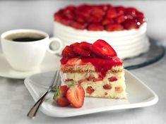 Gâteau aux fraises : Recette de Gâteau aux fraises - Marmiton