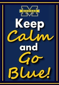 1000+ images about UofM!!!! on Pinterest | Michigan Wolverines, Go ...