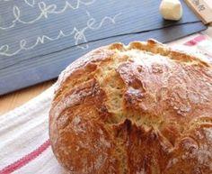 Szenzációs házi kenyér – dagasztás nélkül