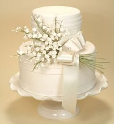 Lily of the valley wedding flower centerpieces New York | The Wedding Specialists