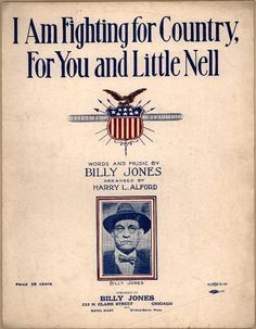 I am fighting for country, for you and little Nell. From Duke Digital Collections. Collection: Historic American Sheet Music