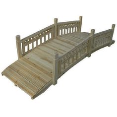 Garden Odyssey Natural Wooden Walkway and Bridge Wooden Path, Wooden Walkways, Lawn And Garden, Home And Garden, Outdoor Projects, Outdoor Ideas, Next At Home, Cottage Homes, Garden Bridge