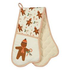 George Home Gingerbread Double Oven Glove | Home & Garden | George at ASDA