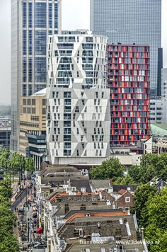 Rotterdam, Netherlands, Holland, My Photos, Buildings, Skyline, City, Travel, Europe